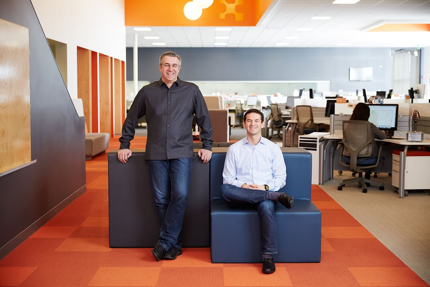 Founders PJ Kirner and Andrew Rubin