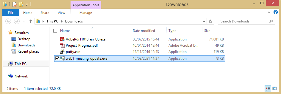 payload in downloads