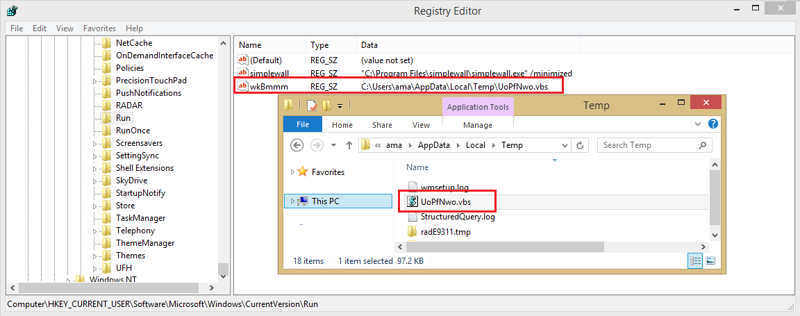 persistence registry artifacts